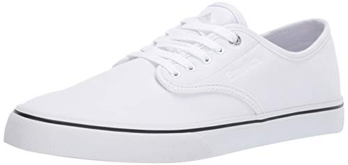 Emerica Men's Wino Standard Skate Shoe White/Gum, 10.5 Medium US
