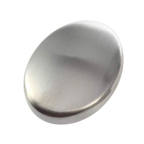 Cafurty Stainless Steel Soap Eliminating Odor Smell Kitchen Bar - One Pack