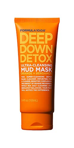 Formula Ten O Six Deep Down Detox Facial Masks, 3.4 Fluid Ounce