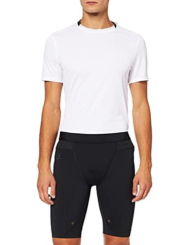 Under Armour Herren KompressionsRUSH Sport Shorts mit Rush-Technologie, Kurze Hose für Männer mit Kompressionspassform, Schwarz, M