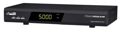 Micro M150/12 Digitaler Satelliten-Receiver (Scart-Anschluss, CI-Schacht, Upscaler 1080i, USB 2.0) schwarz
