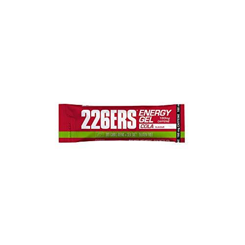 226ERS Bio Energy Gel, Geles Energéticos con 160mg de Cafeína, Cola - 1 x 40 gr