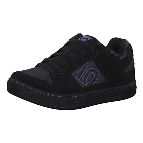 adidas Damen Freerider W Leichtathletik-Schuh, Carbon/NEGBÁS/Purple, 40 EU