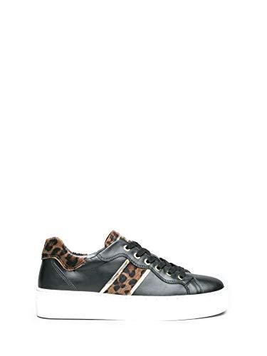 Nero giardini - sneaker in pelle - 41 - nero