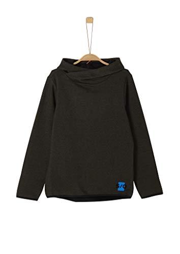 s.Oliver Jungen 62.911.41.2715 Sweatshirt, Grau (Grey Melange 99s6), 176 (Herstellergröße: XL/REG)