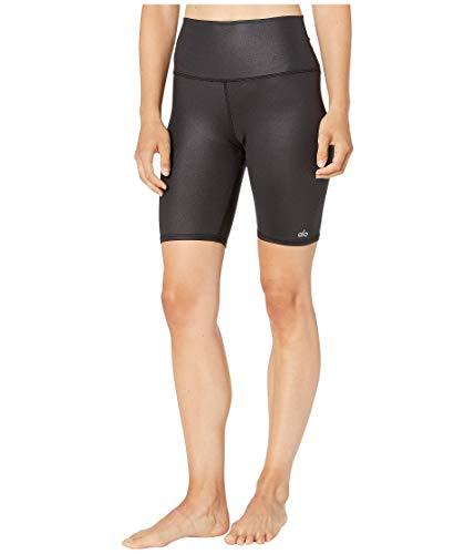 ALO High-Waisted Biker Shorts Black Glossy XXS 7