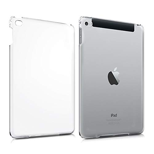 kwmobile Hülle kompatibel mit Apple iPad Mini 4 - Crystal Hard Hülle Tablet Schutzhülle Cover in Transparent