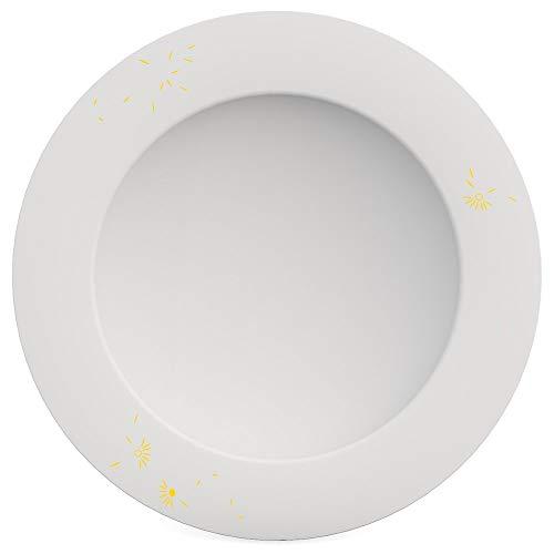 Ornamin Teller tief Ø 24 cm Viento gelb, Melamin, Suppenteller