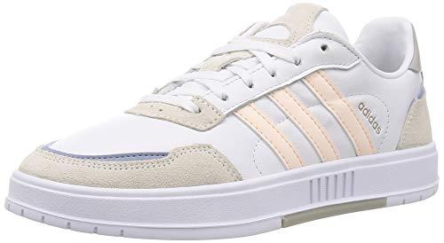 adidas Damen COURTMASTER Tennisschuhe, Ftwbla/Matros/Griorb, 38 2/3 EU