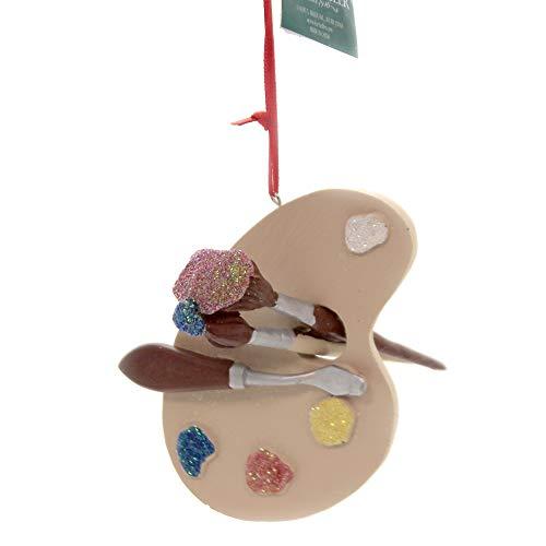 Kurt Adler 4-Inch Artist Palette Christmas Ornament