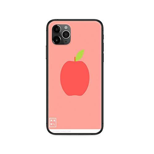 Fruit Phone Case Cover para iPhone 12 11 8 7 6 5 XR PLUS X XS PRO SE 2020 MAX Mini cubierta de silicona negro 3D resistente al agua 8-iPhone X