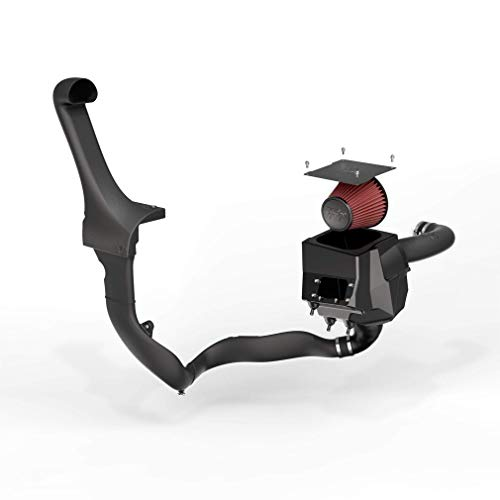 K&N Cold Air Intake Kit: High Performance, Guaranteed to Increase Horsepower: 2012-2018 Jeep (Wrangler, Wrangler JK) 3.6L V6,63-1573