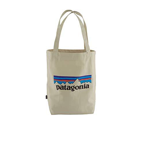Patagonia Market Tote Tasche, Unisex Erwachsene, P-6 Logo: Bleached Stone, Einheitsgröße
