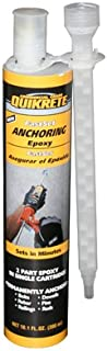 Best quikrete high strength anchoring epoxy Reviews