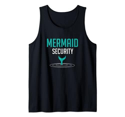 Sirena de seguridad Camiseta sin Mangas