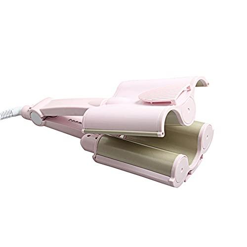 Rizador de Pelo Profesional, Varita de Cerámica de 3 Barril, Herramientas de Estilismo, Rizador de Pelo Ondulado WENJING/A / 32mm
