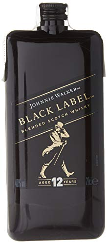 Johnnie Walker Black Label Scotch Whisky Pocket Edition - 200 ml