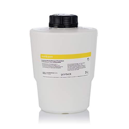 Grünbeck Dosierlösung Mineralstofflösung exaliQ pure 3 Liter Flasche 114034-3