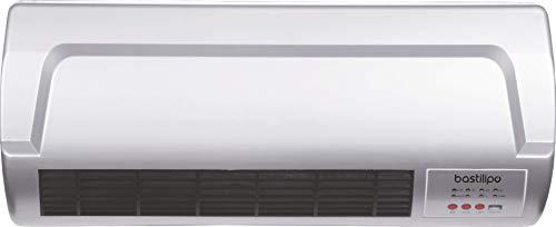Bastilipo CS-2000 Termoventilador de Bajo Consumo, 2000 W, Plástico, Gris