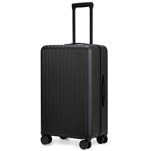 Gopenguin 67cm Hartschalenkoffer, Mittelgroß Trolley Reise Koffer, 4 Rollen Rollkoffer mit TSA-Schloss Spinner GepäCk Leichter 65L/26 Zoll