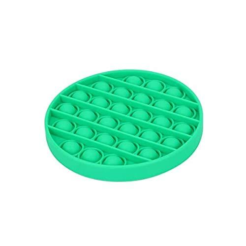 FUNSHINNY Push Pops - Juguete sensorial con burbujas para autismo y alivio del estrés, juguete para adultos y niños, divertido antiestrés, juguete para niños (color: rosa grave)