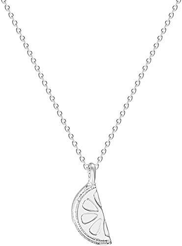 Yaoliangliang Collar Collar de Mujer Encanto geométrico Joyería de declaración Collar Infinito Regalo para niñas