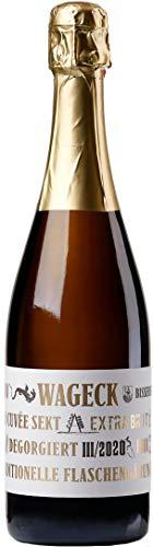 Weingut Wageck Pfaffmann Sekt Cuvée extra brut 2013 Sekt (1 x 0.75 l)