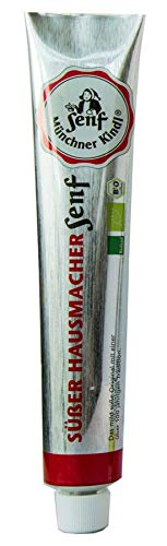 Münchner Kindl Senf Bio Süßer Hausmacher Senf Tube (2 x 100 ml)
