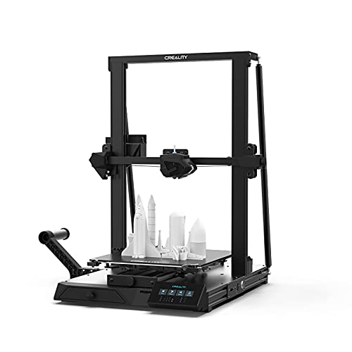 lyq CR-10 Smart 3D Printer ±0.1mm Printing Accuracy Intelligent Automatic Leveling 32-bit Patented Silent Motherboard Printing Size 300×300×400mm