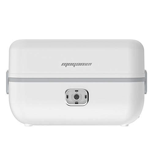 NAN Elektro-Lunch Box Heizung, Elektroheizung Lunchbox Mini Reiskocher Tragbarer Dampfgarer Hitze Erhaltung Elektronische Lunch Box