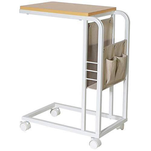 Z-SEAT Estación de Trabajo portátil de 11,8 Pulgadas, Mesa de Cama Ajustable en Forma de C se desliza Junto al sofá, sofá, portátil, Tableta al Lado de la Cama