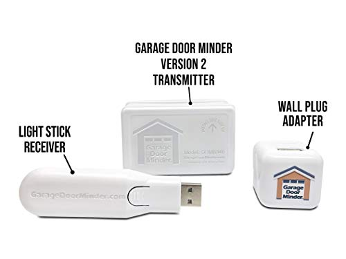 Garage Door Minder Bluetooth Wireless Garage Open Monitor Easy Peel & Stick Installation No WiFi Needed