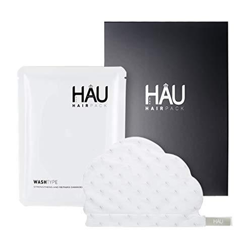 [HAU]Haarmasker Pack- Stoom Haar Reparatie Regrowth Masker voor Droog en Beschadigd Haar - Hydraterende Haarvel Masker - Perfect voor Alle Haartypen (5 Pack)
