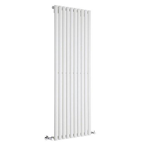 Milano Radiador de Diseño Revive Vertical - Blanco - 1402W - 1600 x 590mm