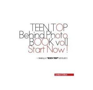 Korea Star BooksTEEN TOP - Behind Photo Book Vol. 1 - Start Now (Limited Edition) (TTOP01PB)