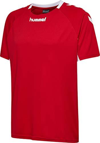 hummel Herren CORE Team Jersey S/S Trikot, True Rot, L