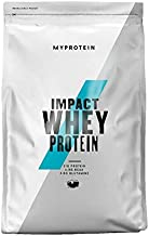 Myprotein Impact Whey Protein Blend, Vanilla, 2.2 lbs (40 Servings)