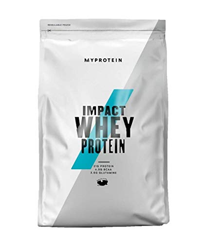 Myprotein Impact Whey Protein Powder. Muscle Building Supplements for Everyday Workout with Essential Amino Acid and Glutamine. Vegetarian, Low Fat and Carb Content - Salted Caramel, 1kg