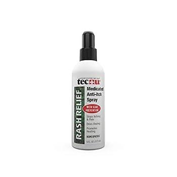 Tecnu Rash Relief Medicated Anti-Itch Spray 6 oz  Pack of 2