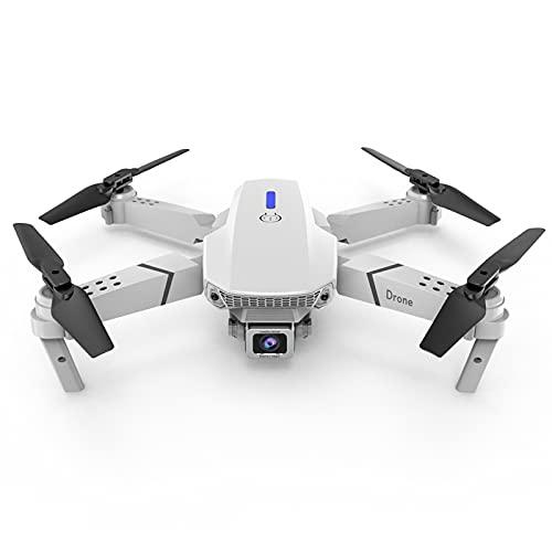 Flu E525 Mavic Mini - Drone Ultraligero y Portátil,Duración Batería 15 Minutos, Tech RC Mini Drone con Cámara 1080P / 4K,Modo sin Cabeza,Apto para Principiantes y Niños.