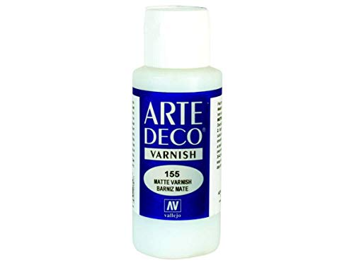 AV Acrylicos Vallejo: Lack Vallejo Arte Deco 84155 Matt Varnish (60ml)