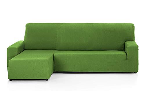FEIGER Funda de sofá Tunez para Chaise Longue, 32 x 17 x 42 cm Brazo Izquierdo Corto (Vista Frontal) 32x17x42 cm Verde