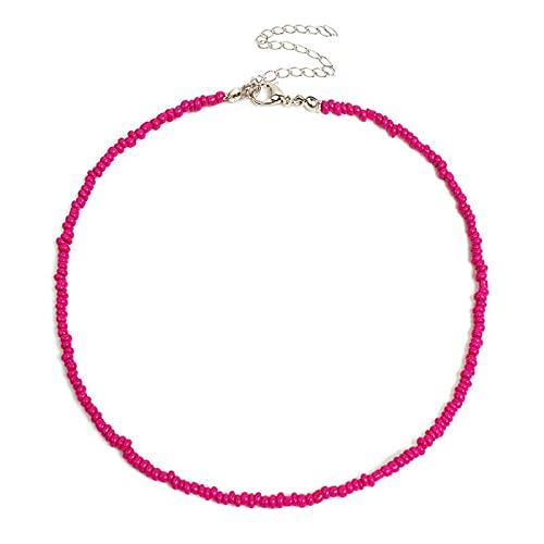Collar Joyas 1 Pieza De Collar De Gargantilla De Estilo Bohemio para Mujer, Collar De Cuentas Bohemio De Moda Creativa, Gargantilla De Cuentas, Acceso