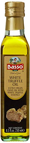 Basso White Truffle Cold Pressed Extra Virgin Olive Oil 8.5 oz (250ml)
