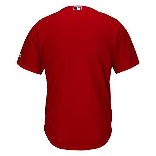 Boston Red Sox MLB Replica Cool Base Scarlet Jersey XL