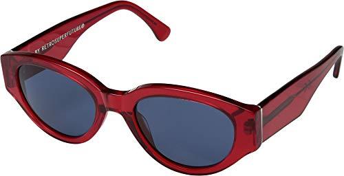 SUPER by Retrosuperfuture Sunglasses Drew Mama Lolita Red T9U Blue 53 Regular