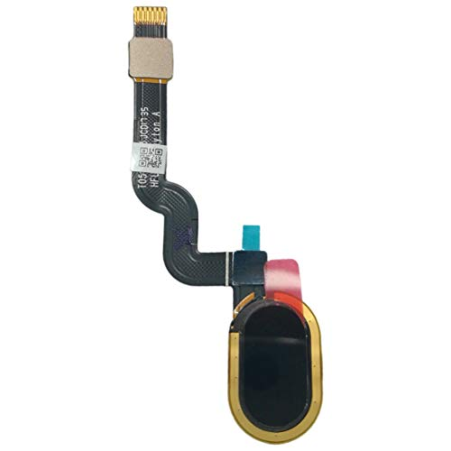 LENASH Fingerprint Sensor Flex Cable for Motorola Moto X4 (Negro) Q Flex Cable