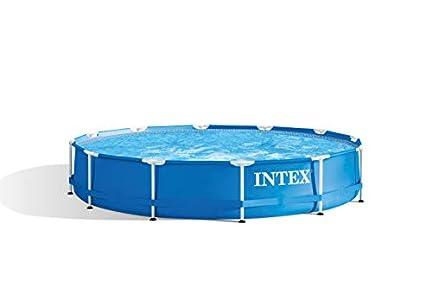 INTEX Piscina elevada Metal Frame - 6503 litros, 366 x 76 cm