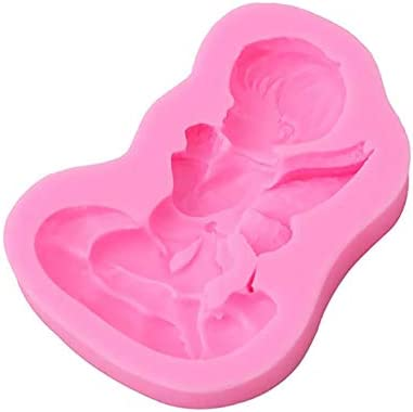 Airlove Mini Angel Baby Wings Fondant Maker Angelic Cherub Silicone Cake Decorating Tools Polymer product image