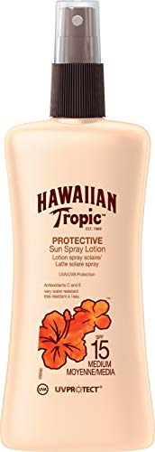 Hawaiian Tropic Satin Protection Sun Spray Lotion Sonnenspray LSF 15, 200 ml, 1 St